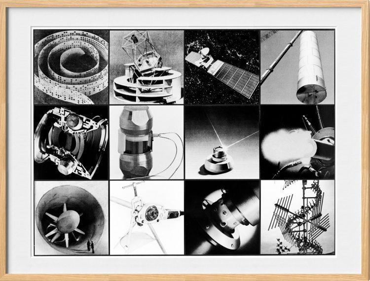 Collage, Männer, die Probleme lösen, 1981