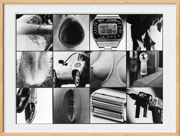 Collage, Vaters Freuden, 1981
