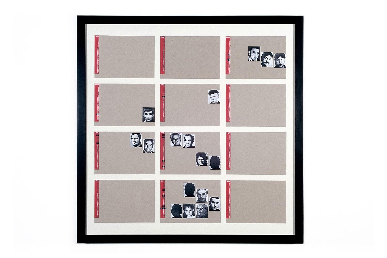 Kalenderentwurf in der Ausstellung »Memento Mori«, 1993 Galerie art works Berlin